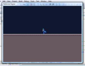 Platformer engine screenshot