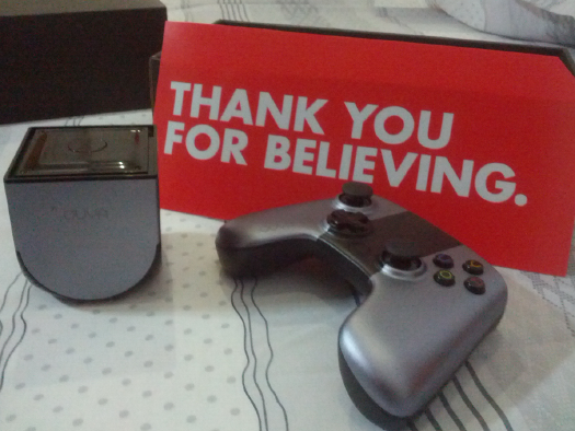 OUYA Thank you